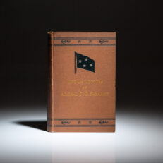 First edition of The Life of David Glasgow Farragut, by his son, Loyall Farragut.