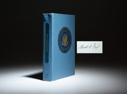 First edition of The Presidents signed by Gerald R. Ford.