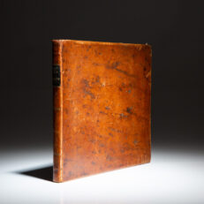 The first comprehensive American book on shipbuilding, The Practical Ship-Builder by Lauchlan M'Kay, printed in 1839.
