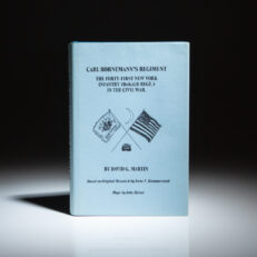 Carl Bornemann's Regiment by David G. Martin, first edition, limited to 500 copies.