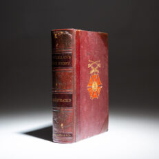 Deluxe first edition of McClellan's Own Story by General George B. McClellan.