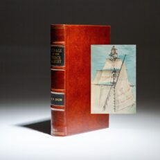 First Edition of William Parker Snow's Voyage of the Prince Albert in Search of Sir John Franklin, with color plates and map.