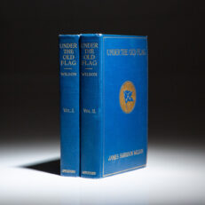 First edition of Under The Old Flag by James Harrison Wilson.