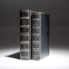 My Own Story by Bernard Baruch, a Christmas presentation copy, specially bound for Dun & Bradstreet Corporation.