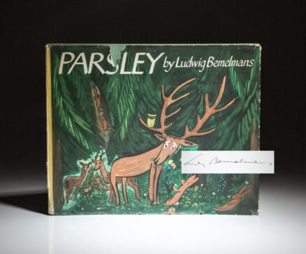 Signed copy of Parsley by Ludwig Bemelmans.