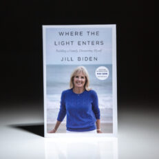 Advance Reading Copy of Where The Light Enters by Jill Biden.