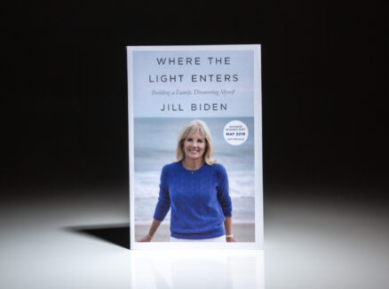 Advance Reading Copy of Where The Light Enters by Jill Biden.