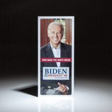 Take Back The White House, Biden for President in 2008, signed by presidential candidate Joe Biden.