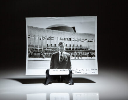 Photograph of United Nations Ambassador, George H.W. Bush.