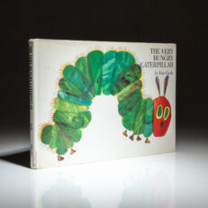 The Very Hungry Caterpillar signed by the author, Eric Carle.