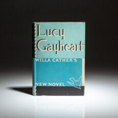 First edition of Lucy Gayheart by Willa Cather.