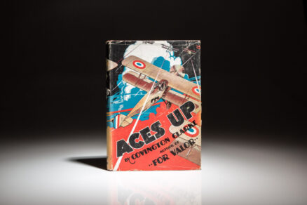 First edition of Aces Up by Covington Clarke.