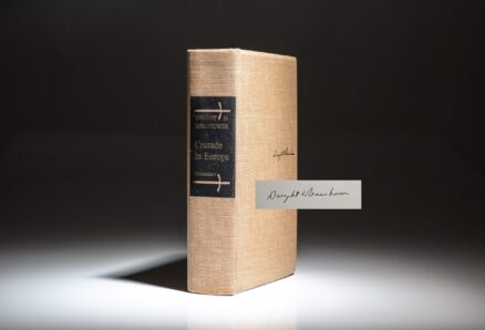 Limited edition of Crusade in Europe by Dwight D. Eisenhower.