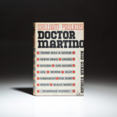 First Edition of Doctor Martino and Other Stories by William Faulkner.