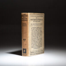 First edition of Some Recollections Of A Western Ranchman by the Honorable William French.