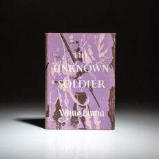 The first English language edition of The Unknown Soldier by Vaino Linna.