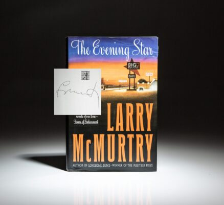 Signed first edition of The Evening Star by Larry McMurtry.