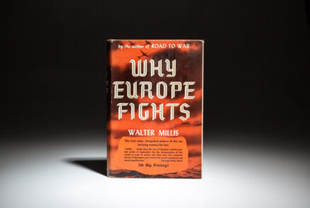 Why Europe Fights by Walter Millis.