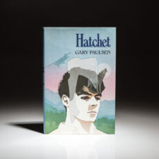 First printing of Hatchet by Gary Paulsen.