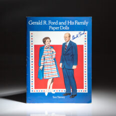 Signed by President Gerald R. Ford, Paper Dolls of Gerald R. Ford and his Family.