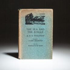New illustrated edition of The Sea & The Jungle by H.M. Tomlinson, with woodcuts by Clare Leighton.