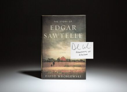 Signed first edition of David Wroblewski's The Story of Edgar Sawtelle.