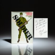 First edition of Soldier by Lieutenant Colonel Anthony Herbert, signed by the author.