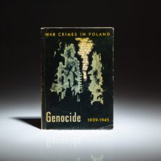The first English edition of Genocide 1939 - 1945, from the series War Crimes in Poland.