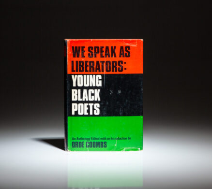 First edition of We Speak As Liberators: Young Black Poets, edited by Orde Coombs.