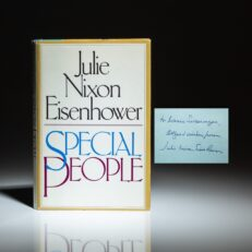 First edition of Special People by Julie Nixon Eisenhower, signed by the author.