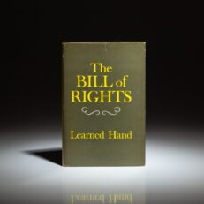 First edition of The Bill of Rights by Learned Hand.