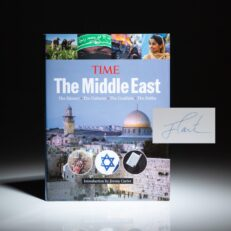 The Middle East from the editors of Time magazine, with an introduction by President Jimmy Carter. This book is signed by Jimmy Carter on his introduction.