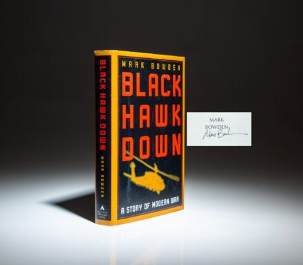 First printing of Black Hawk Down, signed by the author, Mark Bowden.