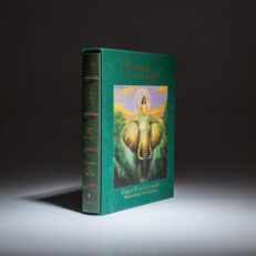 From the Easton Press, limited edition of Edgar Rice Burroughs' Tarzan of the Apes, signed by the illustrator, Bob Eggleston.