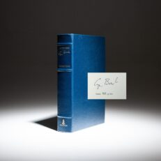 Signed limited edition of All The Best by President George H.W. Bush.