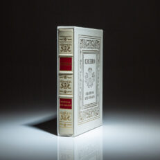 An Easton Press Collector's Edition of Cicero's Orations and Essays.