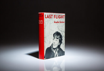 First edition of Last Flight by Amelia Earhart.