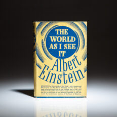 The first American edition of The World As I See It by Albert Einstein.