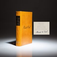 Deluxe limited edition of A Time To Heal, the autobiography of President Gerald R. Ford.