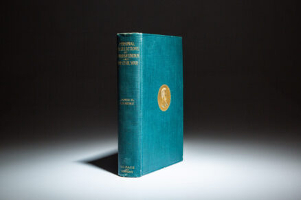 First edition of the Personal Recollections of Abraham Lincoln by James R. Gilmore.