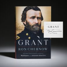 Signed first printing of Grant by Ron Chernow.