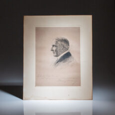 Signed portrait of President Warren G. Harding, inscribed to Senator Ralph H. Cameron of Arizona.