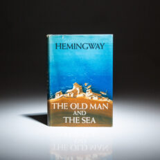 First edition of Old Man and the Sea by Hemingway