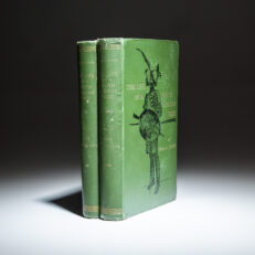 First edition of The Life of a South African Tribe by Henri A. Junod.