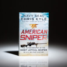 First edition, first printing of American Sniper by Chris Kyle.