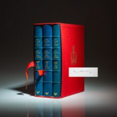 Deluxe Limited Edition of The Book of Kings: A Royal Genealogy, signed by The Earl Mountbatten of Burma.