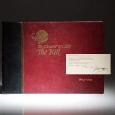 The Directors' Collection of The Kill: Wildlife Encounters, from a limited edition, signed by the publisher, John F. Richardson.