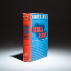First edition of Berlin Diary by William L. Shirer.