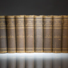 First edition of The Jewish Encyclopedia, the complete twelve volume set, published between 1901 and 1906 by Funk and Wagnalls of New York.
