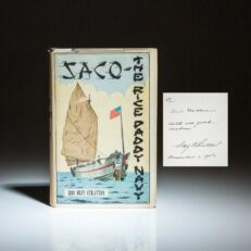 Signed first edition of SACO - The Rice Paddy Navy by Commander Roy Olin Stratton.